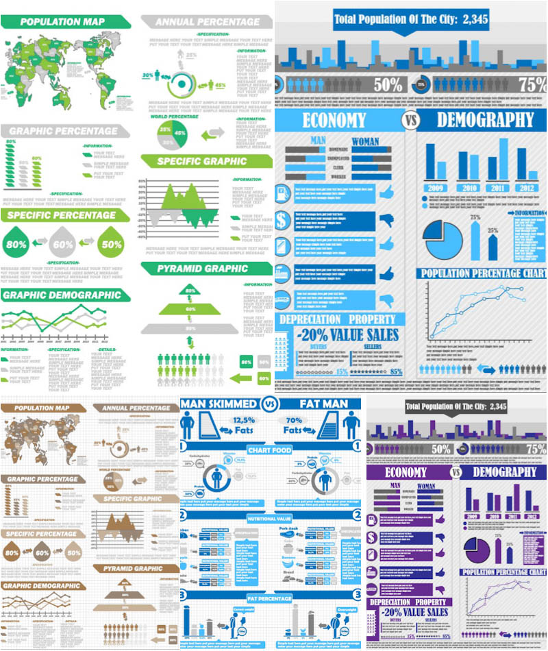 Infographic and diagram vector