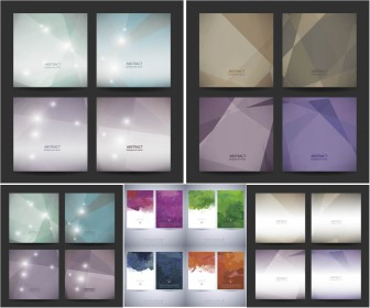 Abstract geometric colorful backgrounds