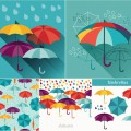 Templates and backgrounds umbrellas